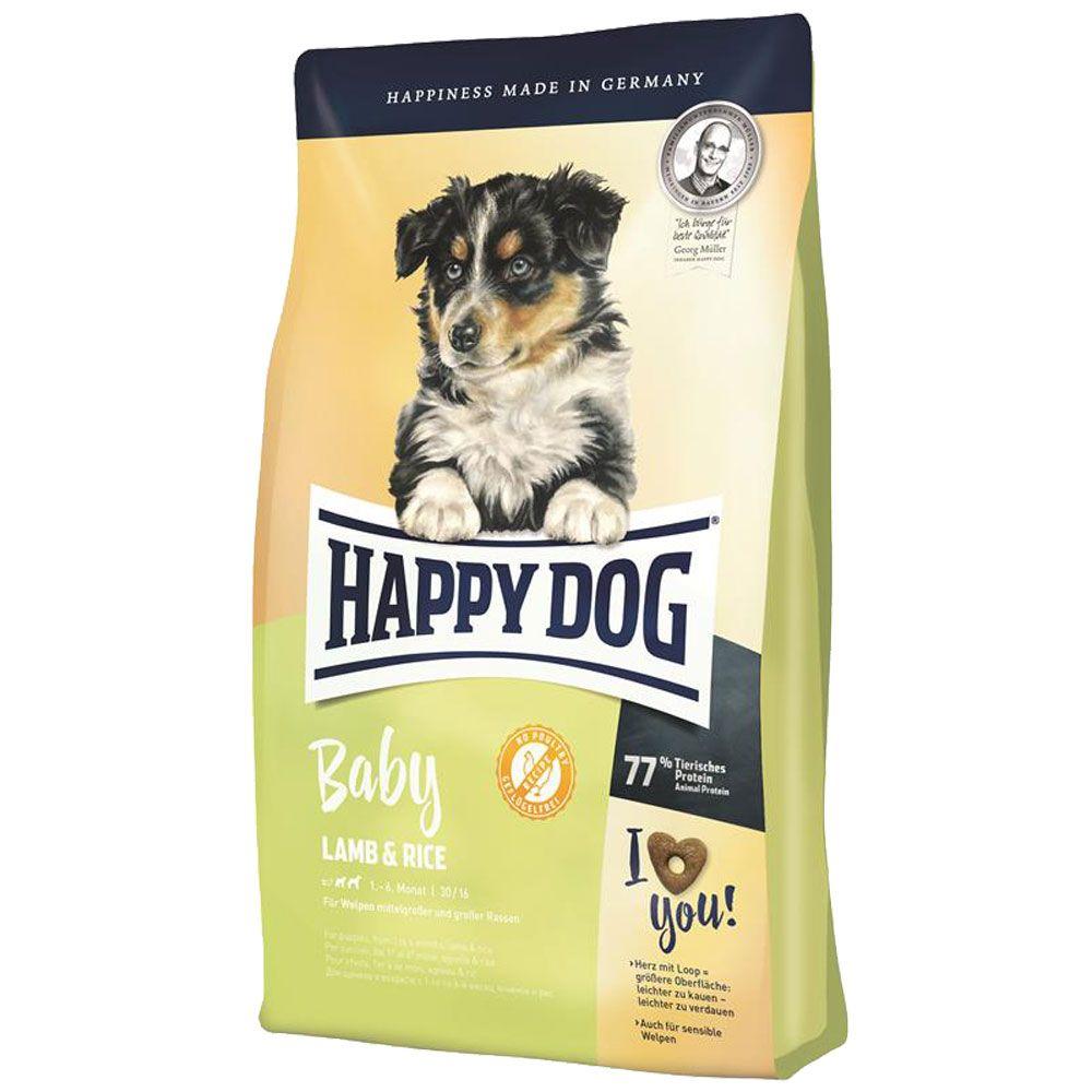 happy dog baby jah a ry a 18kg atos dog krmiv a. Black Bedroom Furniture Sets. Home Design Ideas